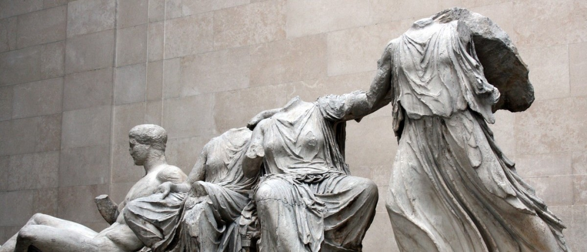 The Elgin Marbles at the British Museum [Kurt Thomas Hunt/Flickr]