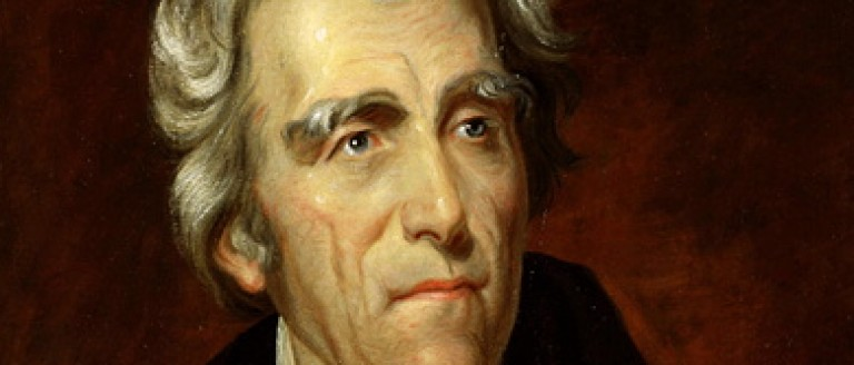 Andrew Jackson, President of the United States (USA) in 1828 (Photo by: Liverani/Andia/UIG via Getty Images)