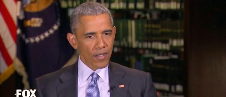 Barack Obama, Screen Shot Fox, 4-10-2016