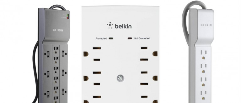 Belkin surge protectors are 60% off (Photos via Amazon)