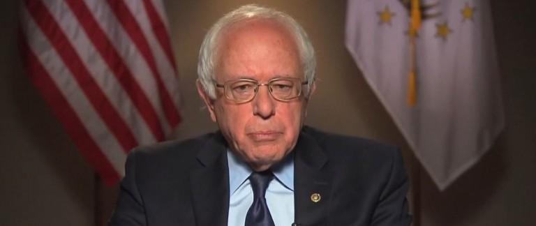 Bernie Sanders, Screen Shot ABC, 4-24-2016