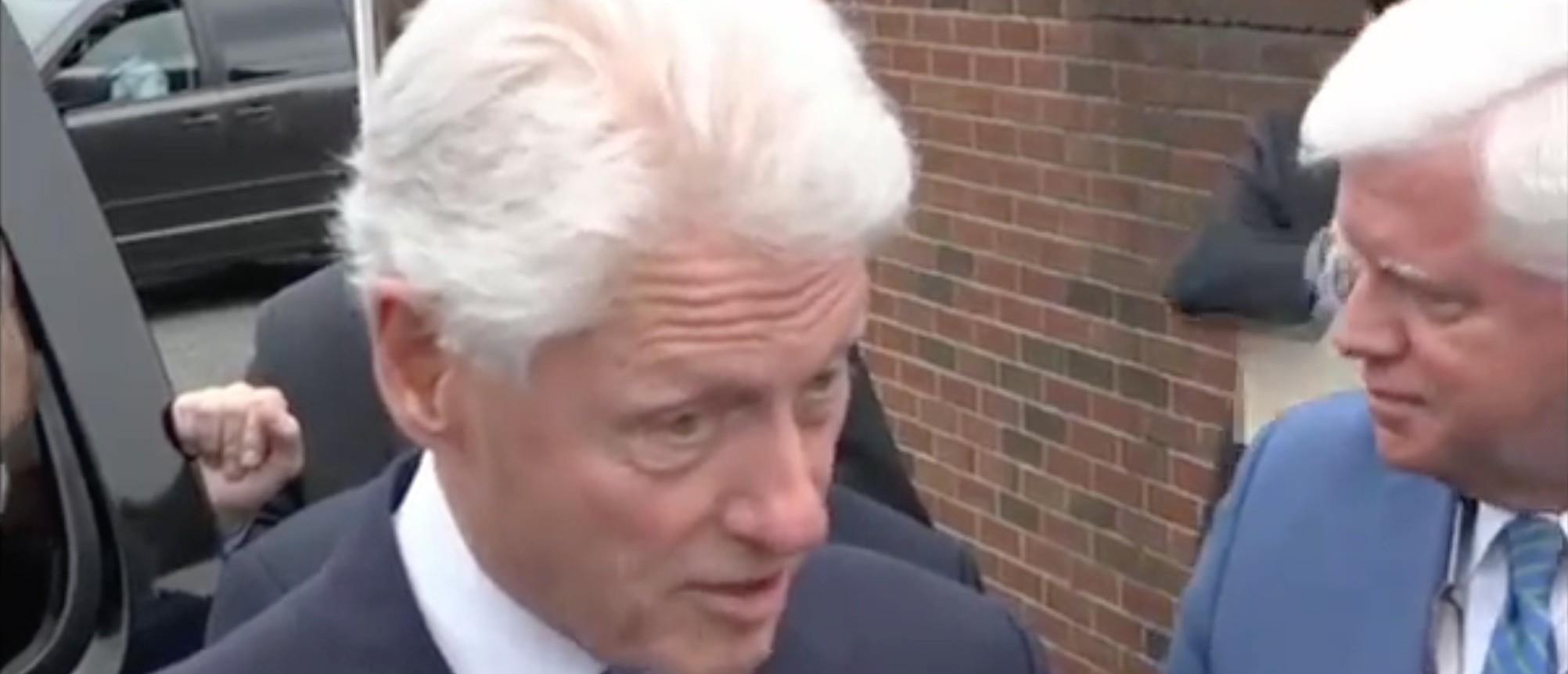 Bill Clinton, Screen Shot ABC, 4-25-2016