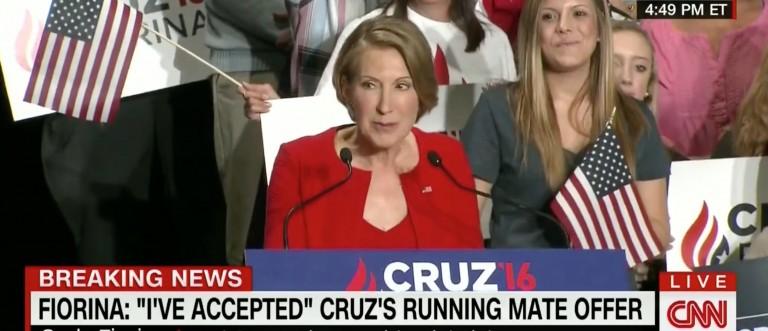 Carly Fiorina, Screen Shot CNN, 4-27-2016