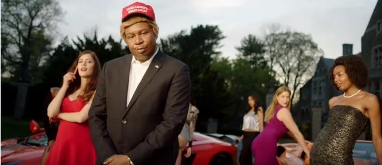Comedy Central Trump Rap photo:screenshot)