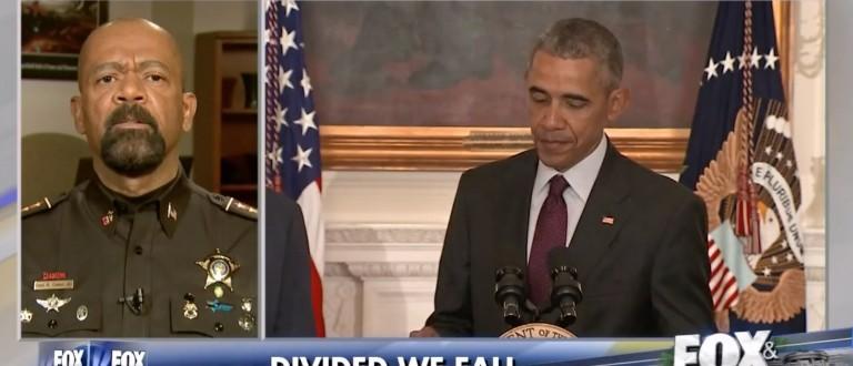 David Clarke, Screen Shot Fox News, 4-11-2016