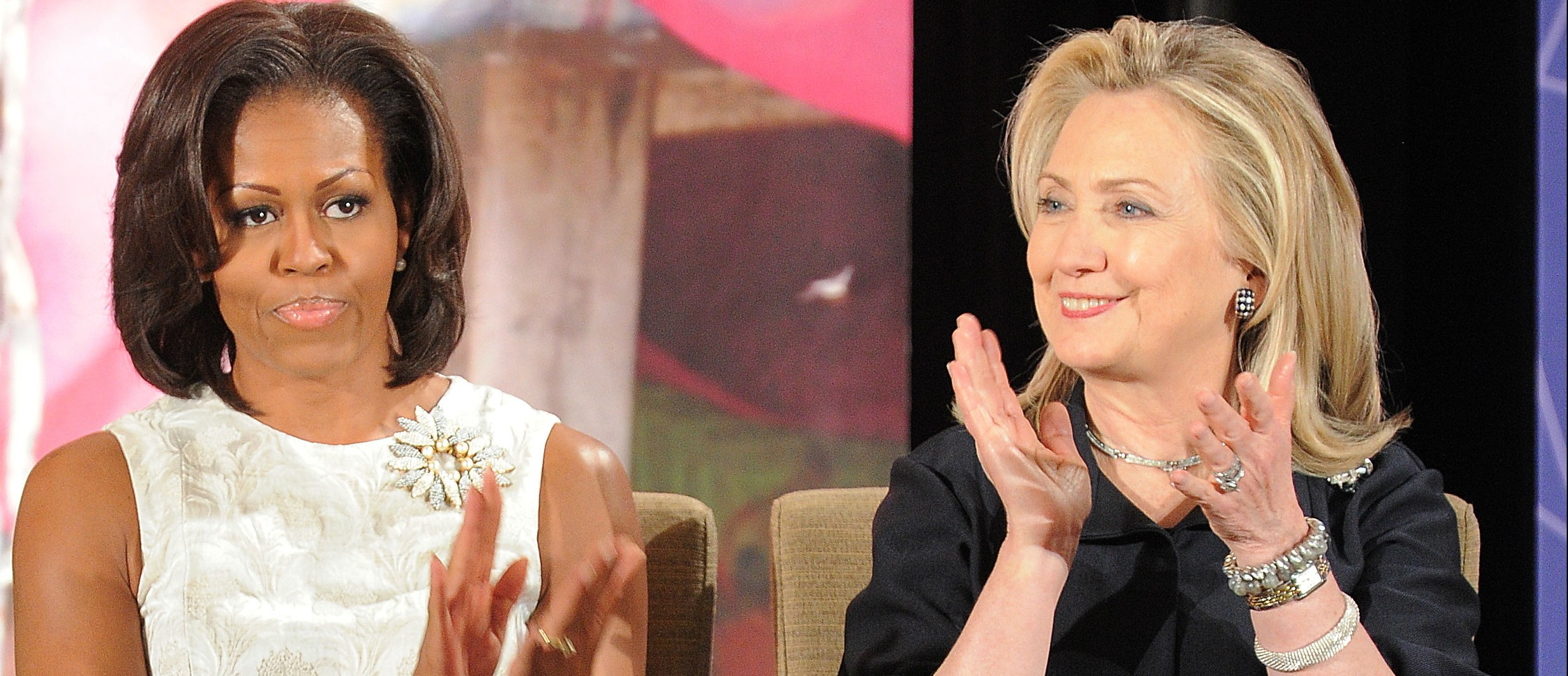 Michelle Obama hates Hillary Clinton, book claims (Photo: Getty Images)