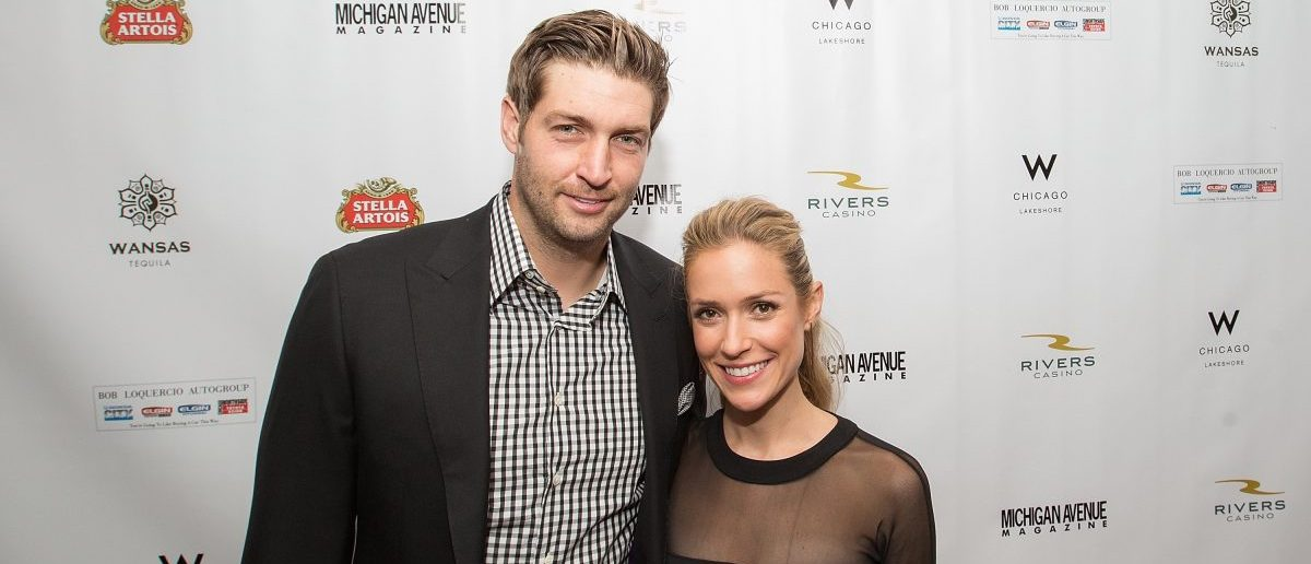Jay Cutler and Kristin Cavallari attend Michigan Avenue Magazine's Fall Fashion Issue Celebration With Kristin Cavallari at W Chicago Lakeshore on September 9, 2014 in Chicago, Illinois. (Photo by Jeff Schear/Getty Images for Michigan Avenue Magazine)