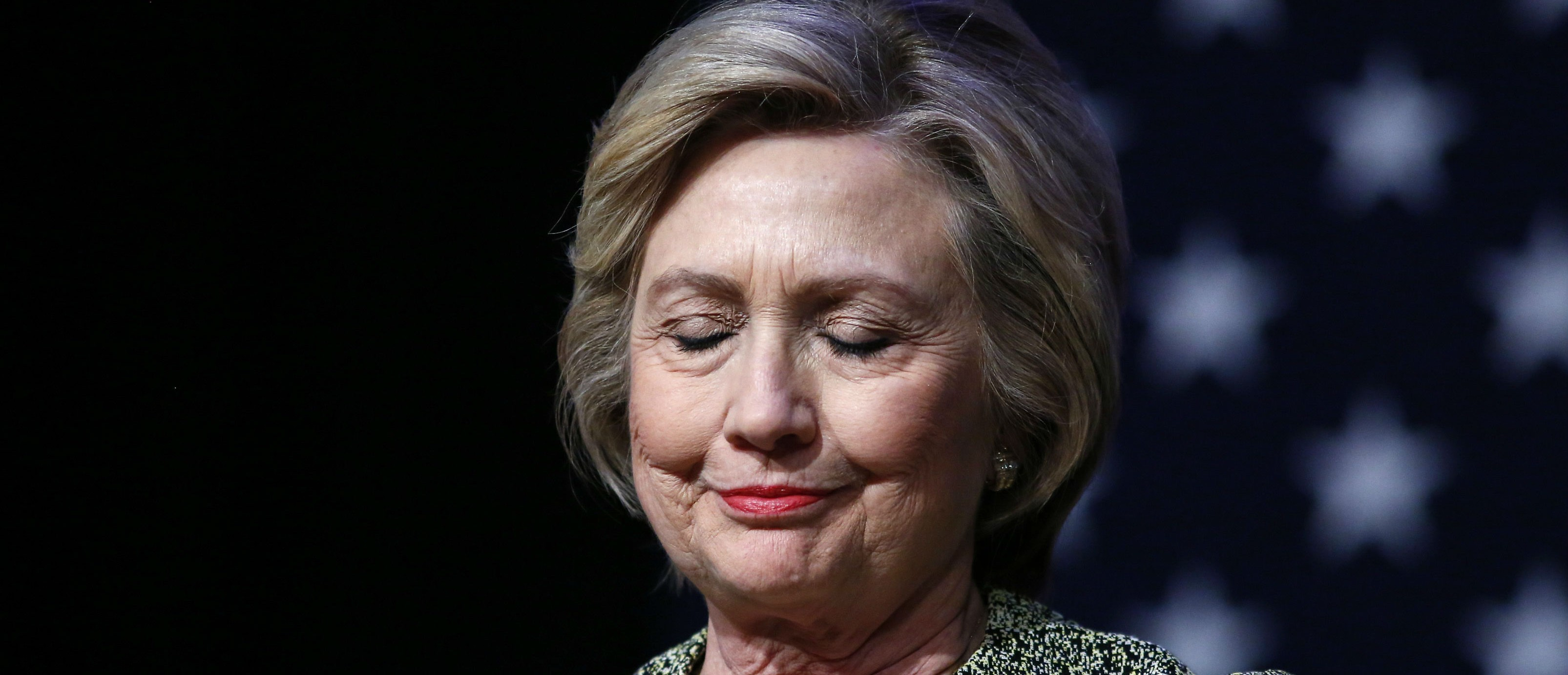 Hillary Clinton is sad she doesn't have time for yoga (Photo: Getty Images)