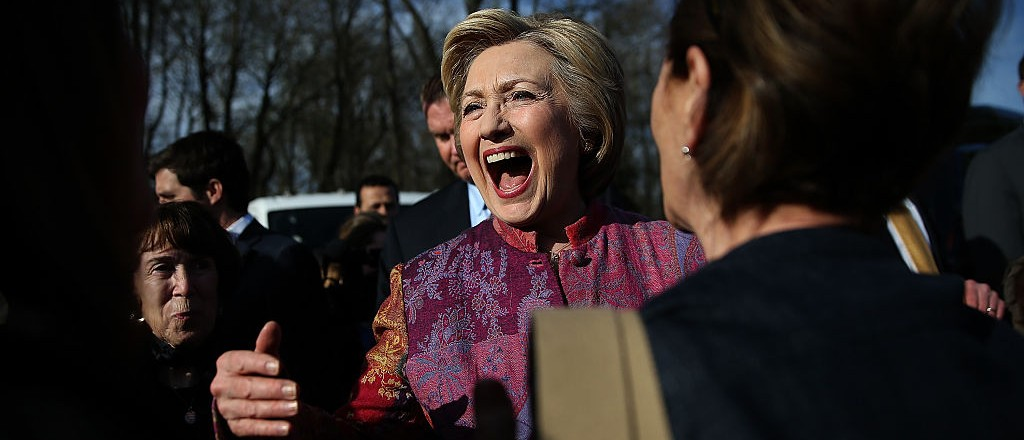Home Field Advantage: Hillary Wins New York Primary (Getty Images)