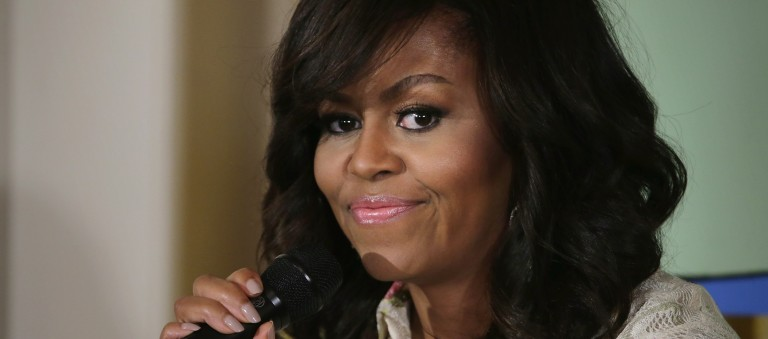 Michelle Obama on NCIS