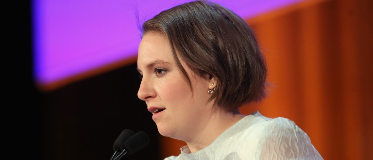 Lena Dunham would kill herself if she was a man