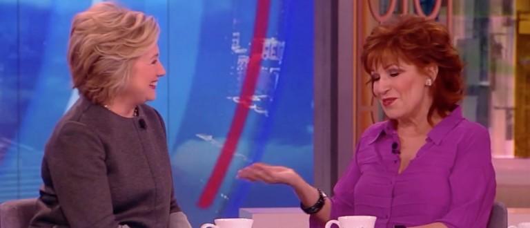 Hillary Clinton, Joy Behar, Screen Shot ABC, 4-5-2016