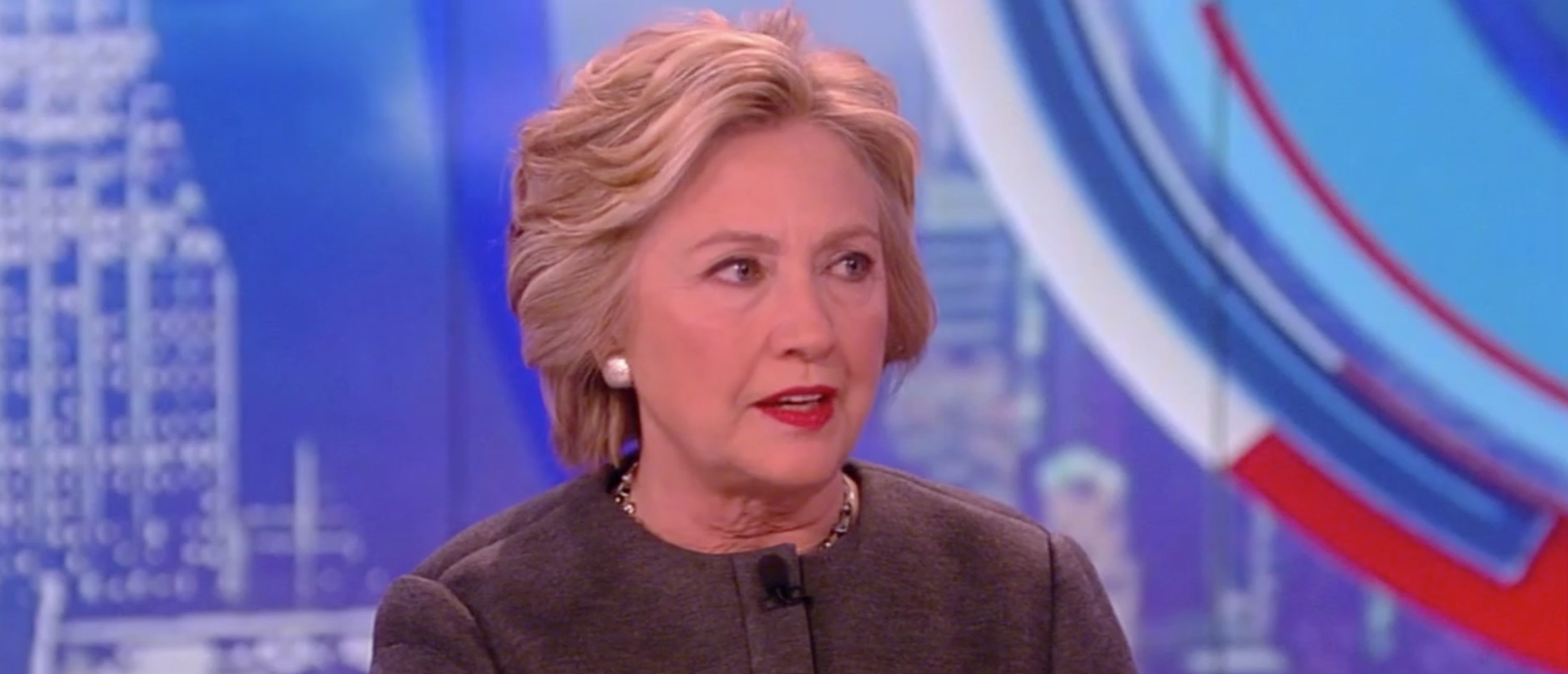 Hillary Clinton, Screen Shot ABC, 4-5-2016