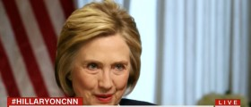 Hillary Clinton, Screen Shot CNN, 4-29-2016