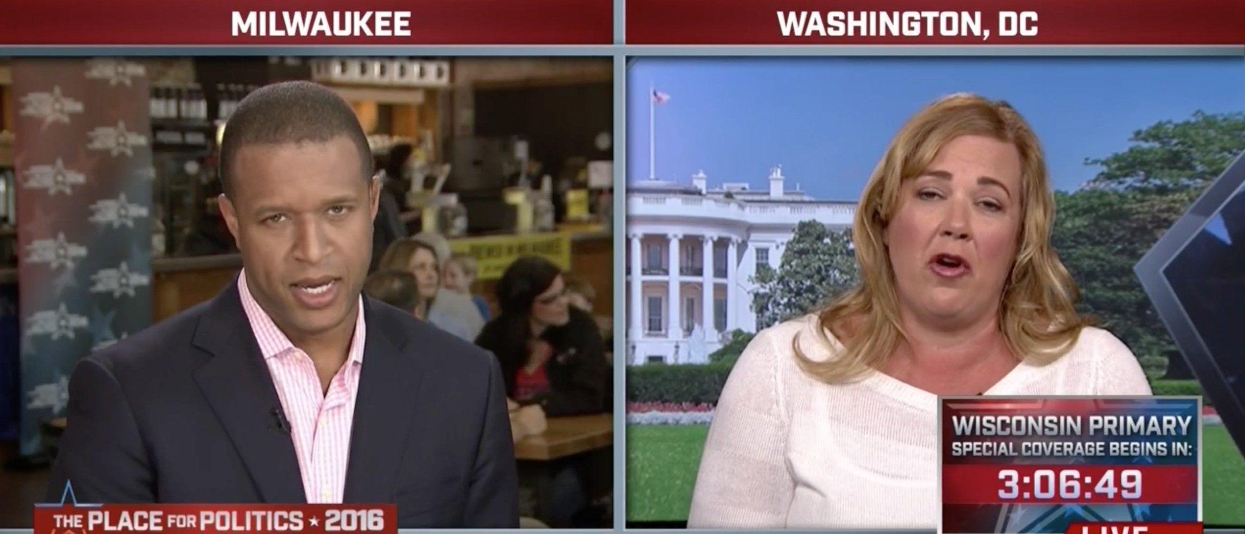 Katie Packer, Screen Shot MSNBC, 4-5-2016