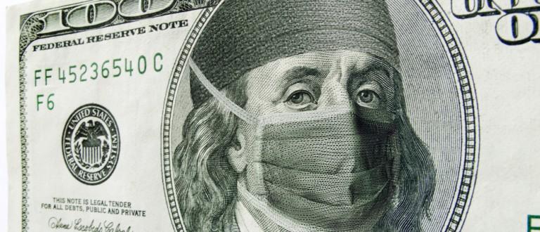 Masked Benjamin Franklin shutterstock_145263814