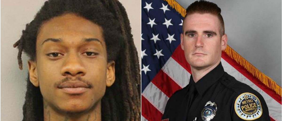 Brian Shannon, left, and Officer Matthew Cammarn, right, Photos: Nashville Police Department