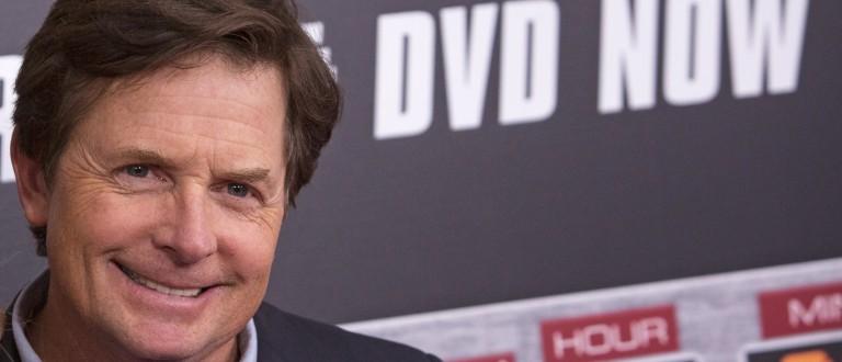 Actor Michael J. Fox photo:REUTERS/Andrew Kelly)