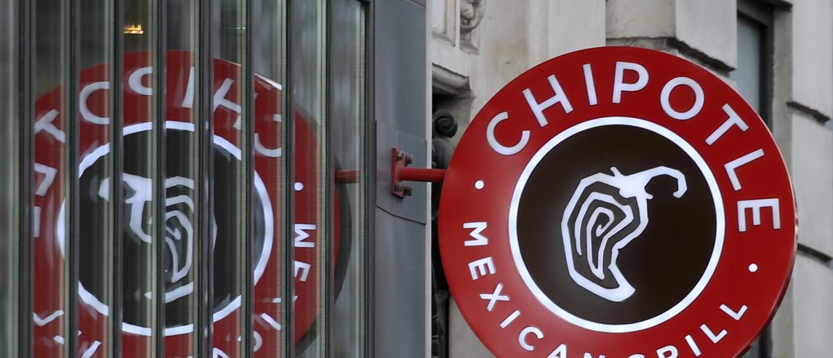 The logo of Chipotle Mexican Grill (REUTERS/Charles Platiau)