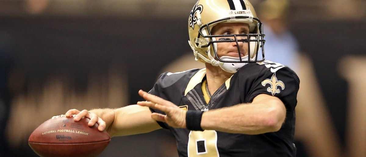 Drew Brees (Credit: Chuck Cook-USA TODAY Sports - via Reuters)
