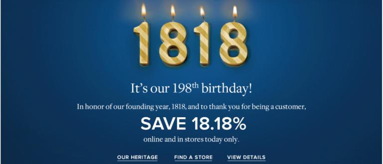 Brooks Brothers is having a birthday sale (Photo via Brooks Brothers)