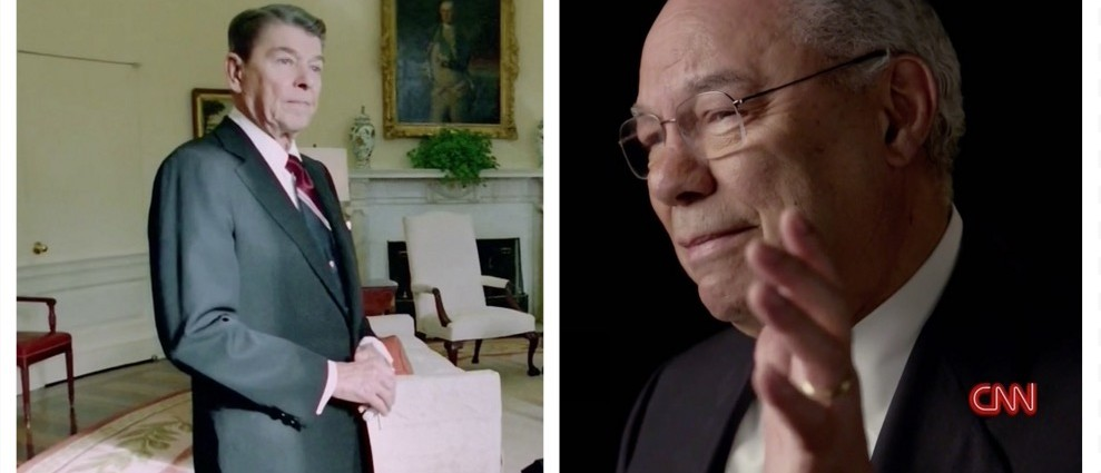 WATCH: Emotional Colin Powell Describes Reagan's Last Day In Office (CNN)