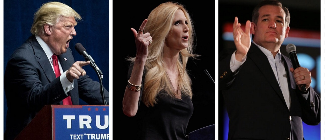 Coulter: Trump Is Trying To Stop Flow Of Illegals... 'Cruz Is Trying To Stop Colorado GOPs From Voting' (Getty Images)