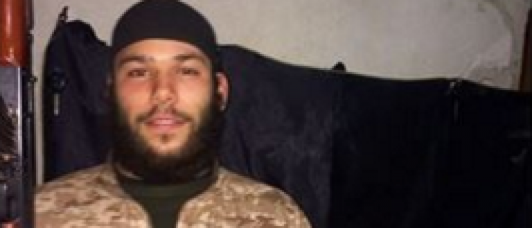 Screenshot of Brussels suspect Osama Krayem (Facebook)