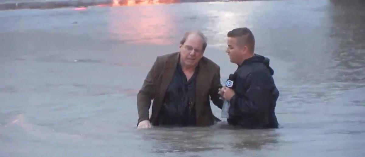 Houston Flood (Credit: Screenshot/ABC 13 Video)