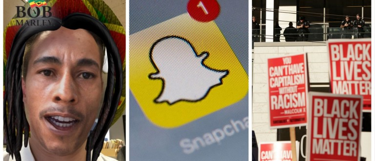 Hit-Tech Blackface -- Liberals Are Freaking Out Over Snapchat's Bob Marley Filter (Christian Datoc/Getty Images)