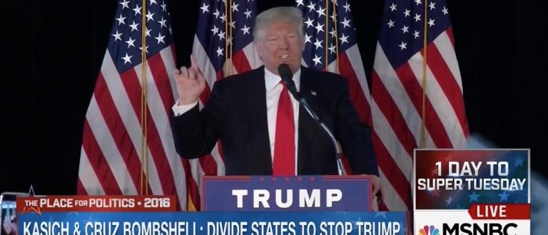 Trump: 'Leave Tom Brady Alone' (MSNBC)