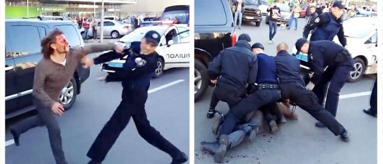 Olympic Gold Medal Wrestler Fights 7 Cops During Drunk Driving Arrest (YouTube)