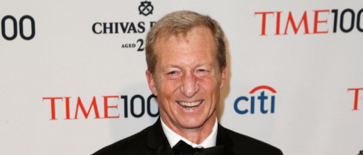 Environmentalist Tom Steyer at Time 100 Gala for the Most Influential People in the World (Debby Wong / Shutterstock.com)