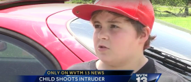 11-Year-Old Boy Shoots Home Intruder, Says He Cried 'Like A Little Baby'
