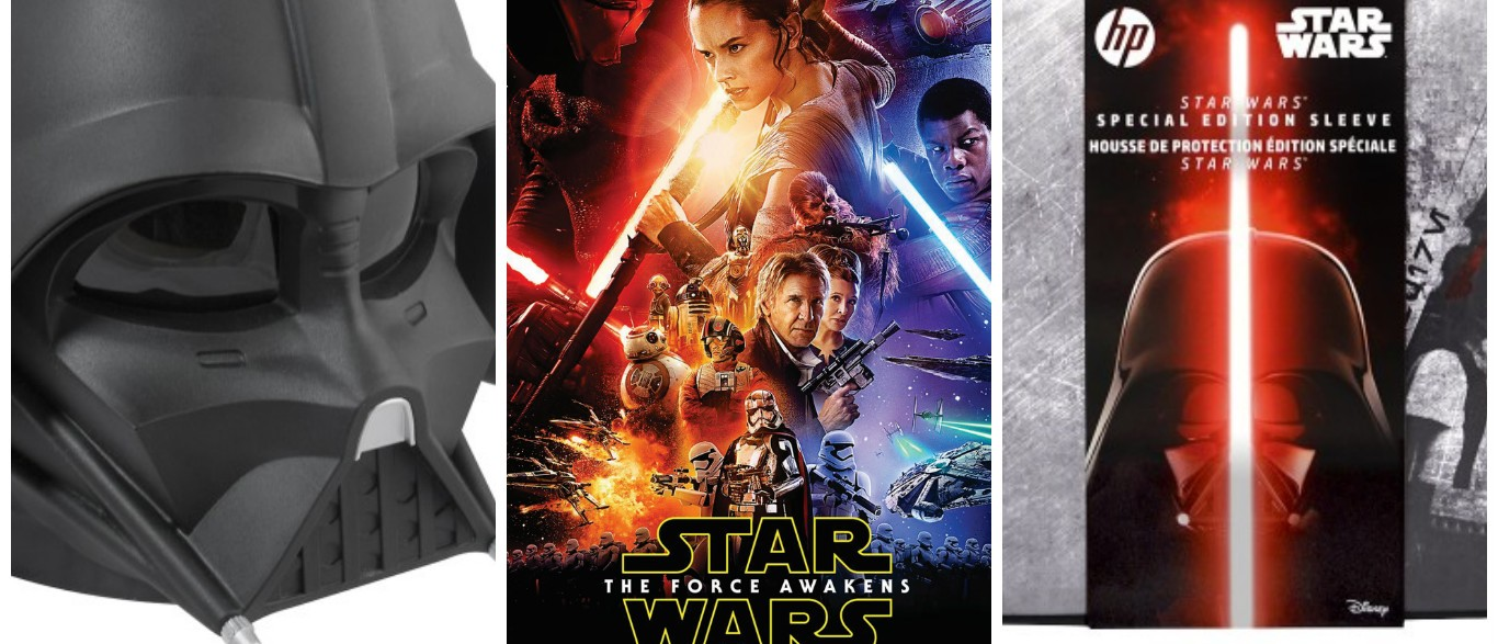 Star Wars merchandise is on sale now (Photos via Best Buy, Disney)