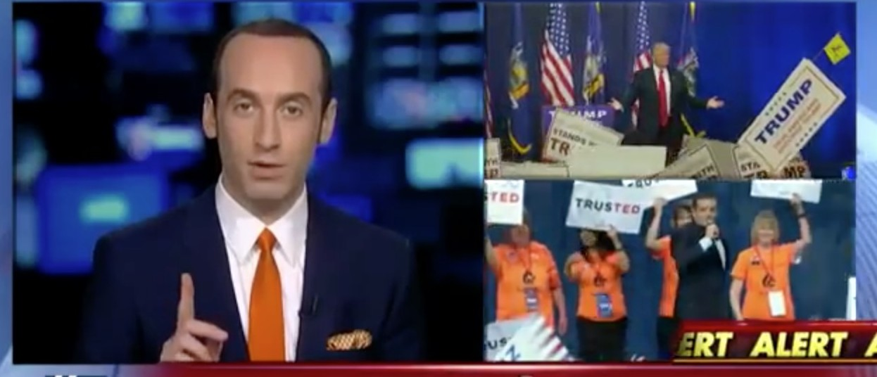 Stephen Miller, Screen Shot Fox News, 4-11-2016