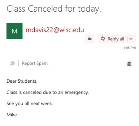Wisconsin Davis email