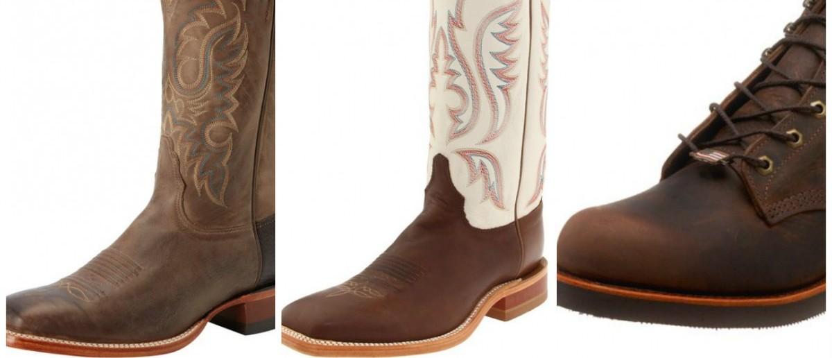 Justin boots are 50% off (Photos via Amazon)