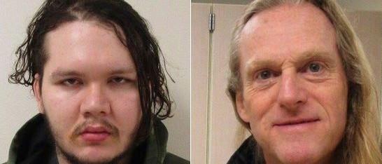 Anthony Garver (left) and Mark Alexander Adams (captured) Photo: Lakewood Police Department