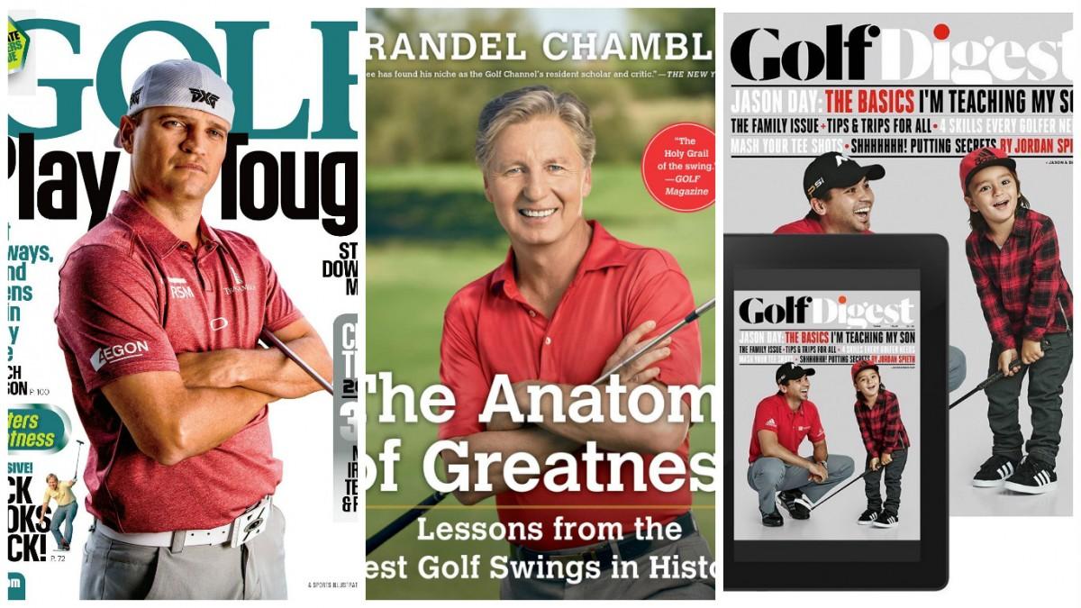 Time to read up on golf (Photos via Amazon)
