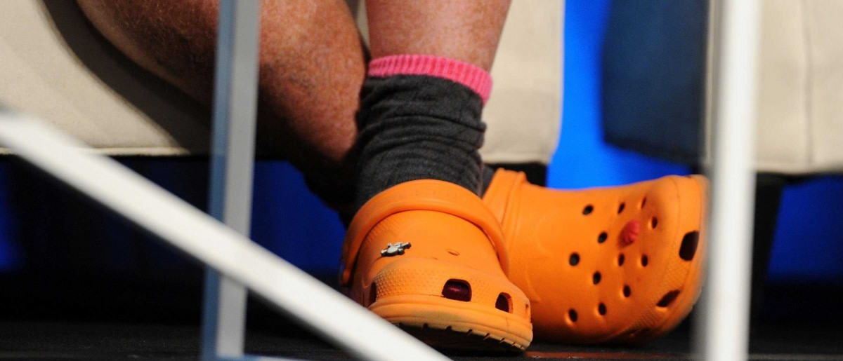 Mario Batali ordered 200 pairs of his favorite Crocs (By Getty's Nelson Barnard)