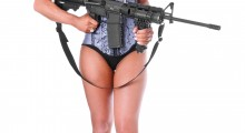 Is that gun loaded? (Credit: Shutterstock)