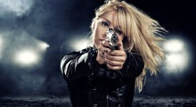 Who is she aiming at? (Credit: Shutterstock)