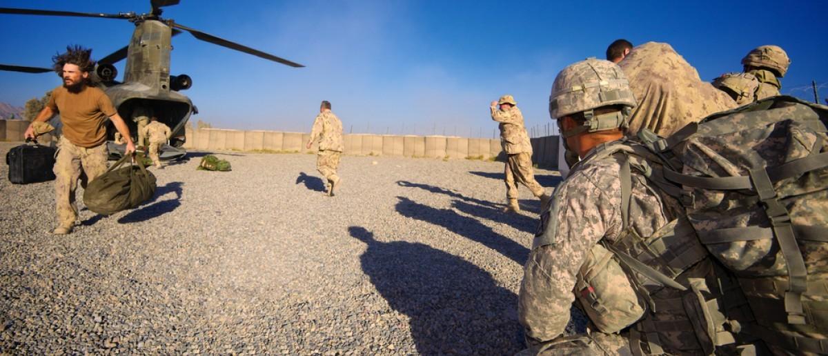 Soldiers in Afghanistan (Credit: Nate Derrick/Shutterstock)