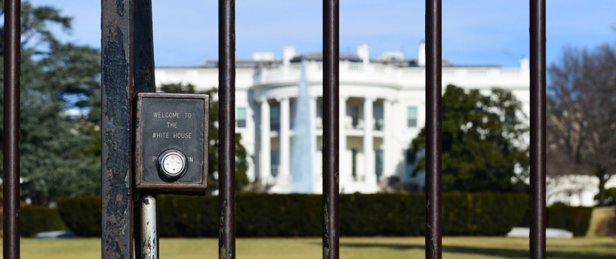 White House Fence. (Credit: Orhan Cam/Shuttershock)