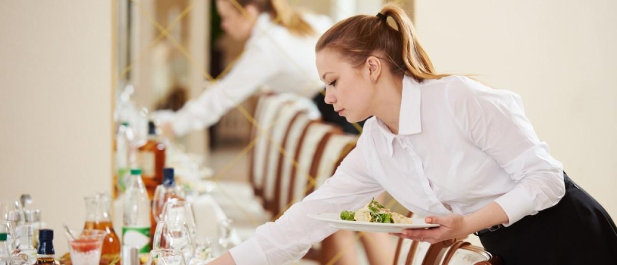 Waitress [Shutterstock]