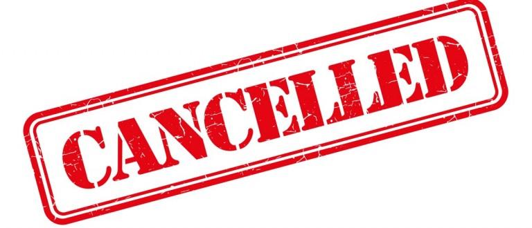 Canceled [Shutterstock/garagestock]