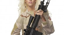 That is a big rifle. (Credit: Shutterstock)