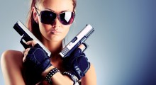 Two great pistols. (Credit: Shutterstock)
