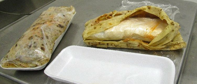Meth Burrito? Border Officers Find Woman Carrying $3,000 Of Crystal Wrapped In Tortillas (Customs and Border Protection)